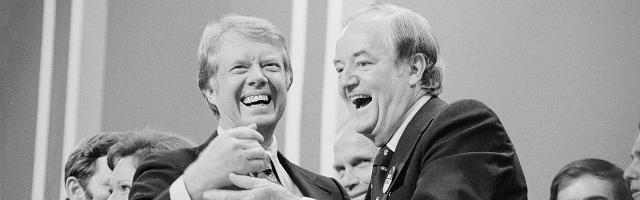 Jimmy Carter et Hubert Horatio Humphrey